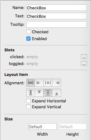 Form Editor - CheckBox Help [Valentina Database Wiki v8]