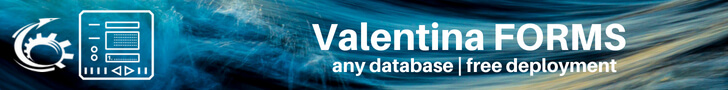 Valentina Forms are Forms for MySQL, PostgreSQL and More