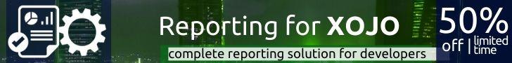 Reporting for Xojo